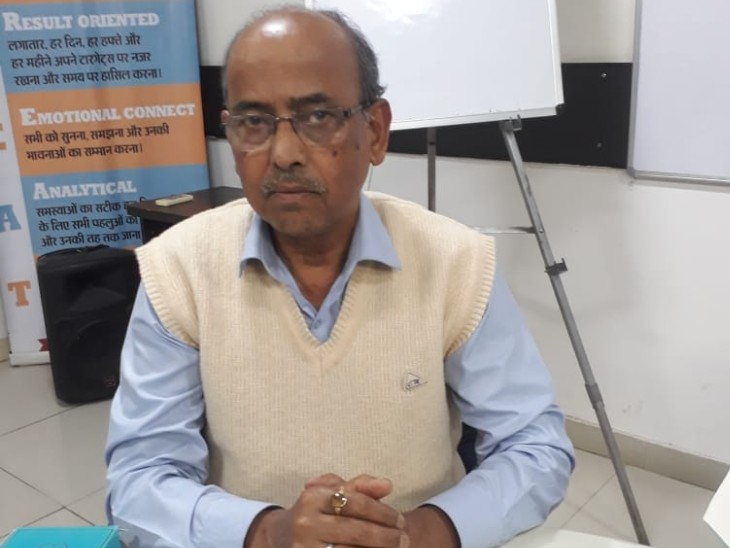 चाणक्या स्कूल ऑफ पॉलिटिकल राइट्स एंड रिसर्च के अध्यक्ष सुनील कुमार सिन्हा।
