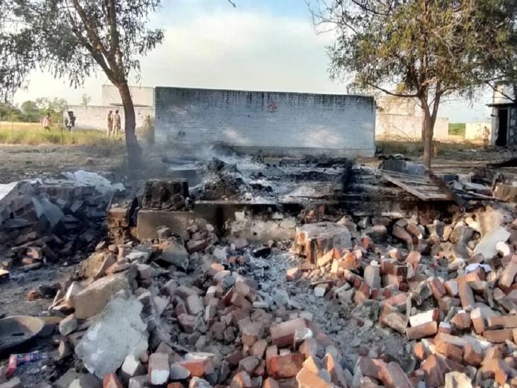 विरुद्धनगर में फिर हादसा: पटाखा फैक्ट्री में आग लगने से 6 लोगों की मौत, 12 फरवरी को ऐसे ही हादसे में 19 जानें गई थीं