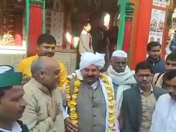अयोध्या में BKU अध्यक्ष टिकैत ने कहा- बंगाल में BJP के खिलाफ प्रचार करेंगे; श्रीराम हमारे पूर्वज, PM को सद्बुद्धि दें प्रभु|लखनऊ,Lucknow - Dainik Bhaskar