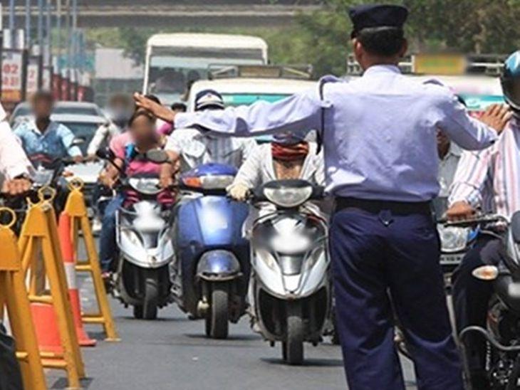 पुलिस का यातायात प्लान: शहर के अन्य चौराहों को मिलाकर 24 पाइंट मार्क, शाम 6-8 बजे के बीच ट्रैफिक पुलिस के साथ थाने का बल भी सडको पर लगेगा।
