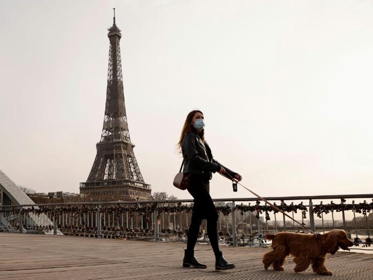 कोरोना दुनिया में: फ्रांस में एक दिन में 25 हजार से ज्यादा नए मामले, अब यहां फिर से लॉकडाउन की तैयारी