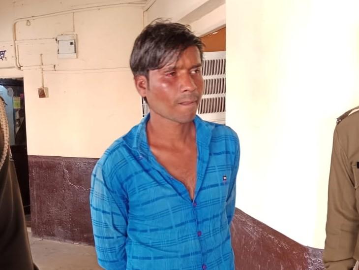 आंगन में खेल रही 4 साल की बच्ची को उठा ले गया नशेड़ी, पड़ोसियों ने बचाया; डर के मारे कपड़ों में टायलेट करती रही बच्ची|अलवर,Alwar - Dainik Bhaskar