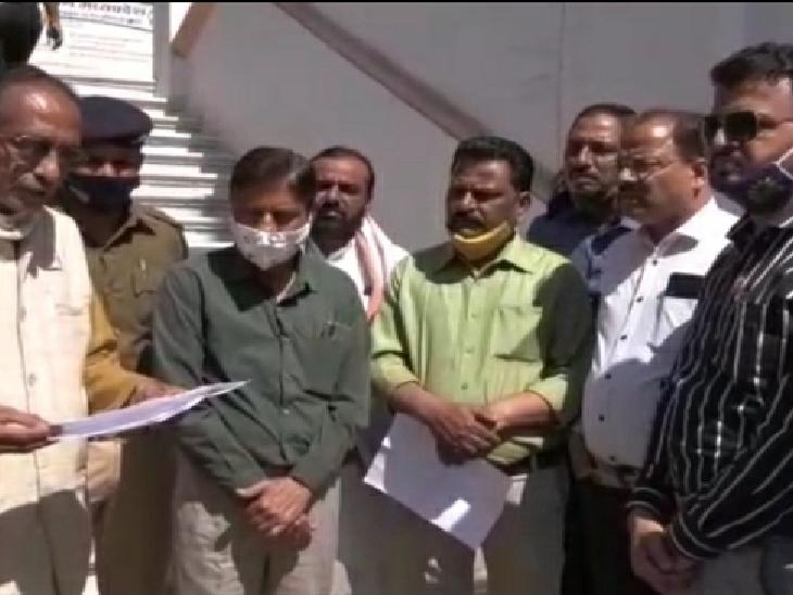 भारत बंद: भारत बंद के समर्थन में उज्जैन के व्यापारी बोले- व्यापारियों ने खुद के व्यापार के लिए किया बंद, तीन करोड़ का व्यापार
