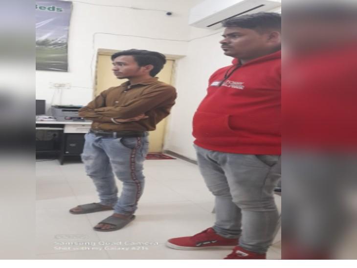 फर्जी ऑफर लेटर पर एक महीने से दो युवक कर रहे थे हड्डी जोड़ विभाग में ड्यूटी, किसी को भनक तक नहीं थी|ग्वालियर,Gwalior - Dainik Bhaskar