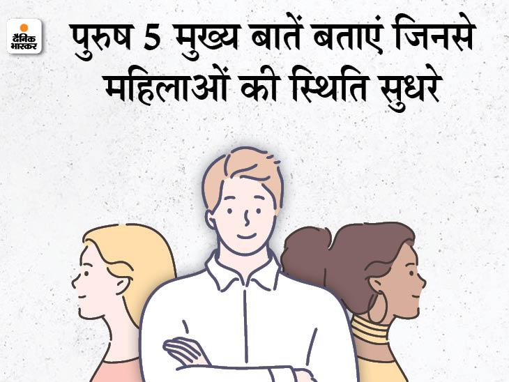 महिला दिवस पर पुरुषों का विशेष चयन: देश में महिलाओं की स्थिति बेहतर कैसे हो, पुरुष 3 मार्च तक अपनी राय दें