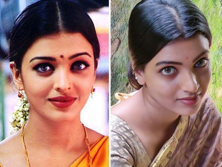 Like Shwarya Rai, Amrita Amuj has also become quite popular on Tick Talk because of her looks.