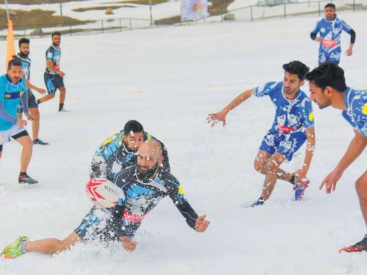 Second Khelo India Winter Games started in Gulmarg, 1200 players from 27 states and UT participating | गुलमर्ग में शुरू हुआ दूसरा खेलो इंडिया विंटर गेम्स, 27 राज्य और यूटी के 1200 खिलाड़ी हिस्सा ले रहे