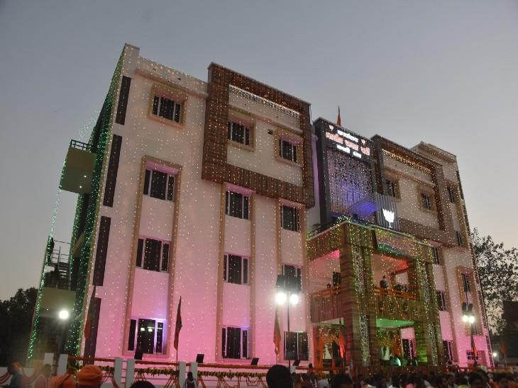 वाराणसी में भाजपा का क्षेत्रीय कार्यालय: 12,000 फुट फीट में 7 करोड़ से बना, 14 लोकसभा और 71 विधानसभा क्षेत्रों में बनेगा