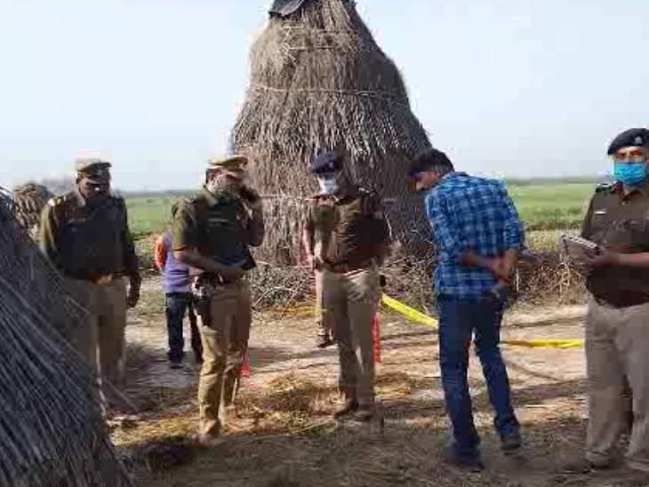 कन्नौज में म आदेश: लापता किशोर का भूसे की कोठारी में मिला शव;  परिजन ने रंजिश हत्या जताई शक, पुलिस बोली- मिले अहम सुराग