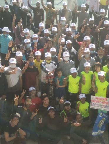 स्वच्छता के लिए साइकिल रैली: संभागायुक्त ने जनता को स्वच्छता के प्रति सजग रहने और पॉलीथिन का उपयोग न करने की आदत