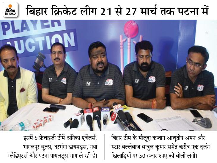 BCCI ने कहा- टी-20 लीग की अनुमति नहीं, फिर कैसे हुआ ऑक्शन; BCA बोला- एक महीने पहले भेजे गए पत्र का नहीं मिला जवाब क्रिकेट,Cricket - Dainik Bhaskar