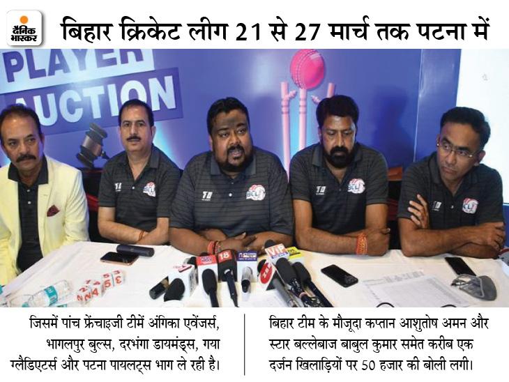 BCCI और बिहार क्रिकेट एसोसिएशन में विवाद: बोर्ड ने कहा- टी -20 लीग की अनुमति नहीं, फिर कैसे हुआ ऑक्शन;  BCA बोला- एक महीने पहले भेजे गए पत्र का नहीं मिला जवाब