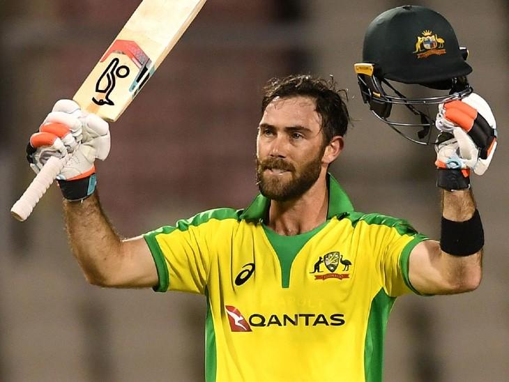 ऑस्ट्रेलियन ऑलराउंडर ग्लेन मैक्सवेल IPL 2021 की ऑक्शन में बिकने वाले तीसरे सबसे महंग खिलाड़ी थे। उन्हें रॉयल चैलेंजर्स बेंगलुरु ने 14.25 करोड़ रुपए में खरीदा था। - Dainik Bhaskar