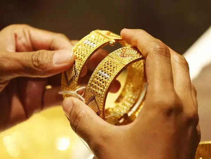 फिर चमका सोना: सोने की दुकानें 241 रुपए 45,520 रुपए प्रति 10 ग्राम तक पहुंचती हैं;  चांदी में 781 रुपए का जबरदस्त उछाल