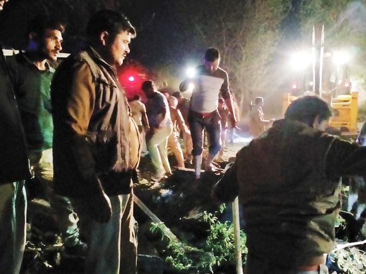 यूपी के कानपुर देहात में हादसा: तेज रफ्तार ट्रॉला पलटने से 6 मजदूरों की मौत, 15 की हालत गंभीर