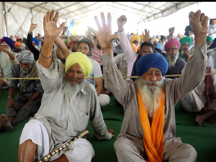किसानों की नई रणनीति:चुनावी राज्यों में BJP का खेल बिगाड़ने जाएंगे किसान नेता, 6 मार्च को KMP एक्सप्रेस-वे जाम करेंगे