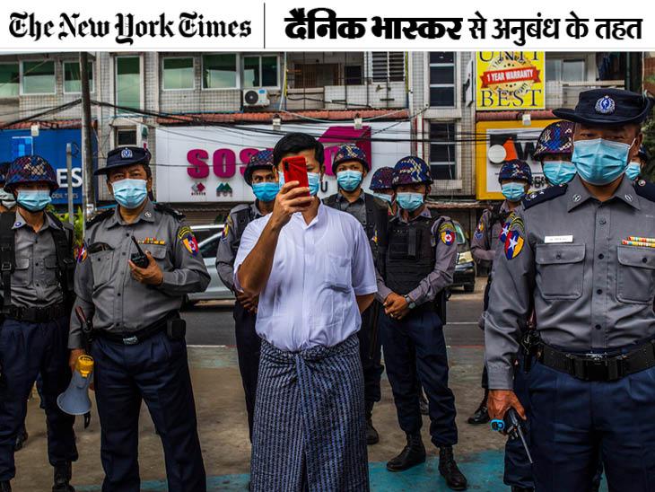 चीन के रास्ते पर म्यांमार आर्मी: दानव समर्थकों को दबाने के लिए ड्रोन और स्पायवेयर का इस्तेमाल किया;  30 दिन में 25 प्रदर्शनकारी मारे गए