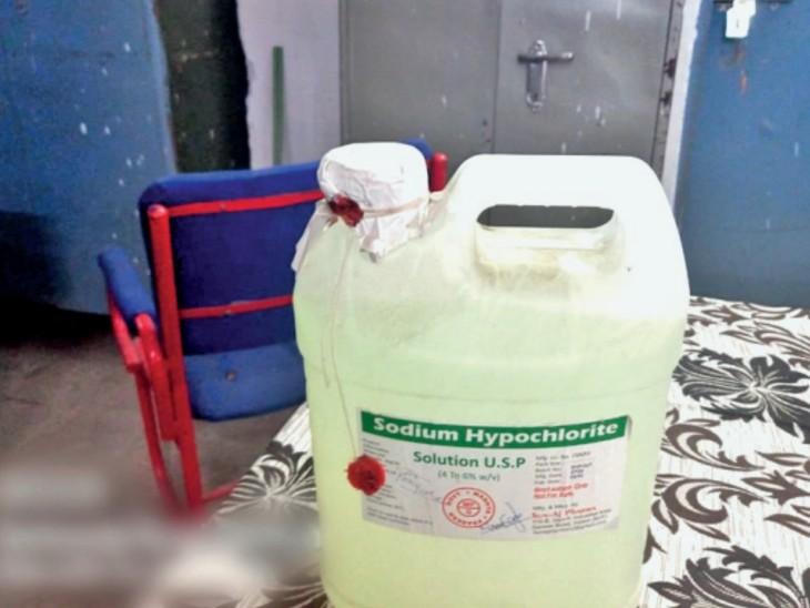 ड्रग विभाग की जांच में खुलासा: कोरोना खत्म करने के लिए भोपाल-विदिशा और अजैन सहित 11 जिलों में जो रसायनल का छिड़काव किया गया, जांच में वे गुणवत्ताहीन निकले।