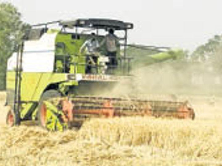 आत्मनिर्भर: पंजाब, हरियाणा से नहीं बुलाना हार्वेस्टर चालक को, जिले के 10 वें पास आवेदक काे कृषि शिक्षा भेपाल में निशुल्क पढ़ाते हुए हार्वेस्टर चल रहा है।