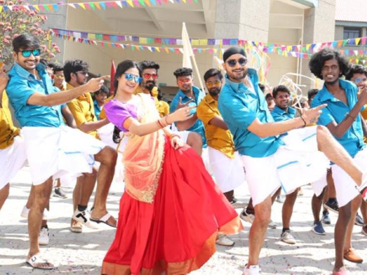 हरभजन सिंह की 'फ्रेंडशिप' का टीजर रिलीज, अपनी डेब्यू तमिल फिल्म में पहली बार लीड रोल में नजर आएंगे भज्जी बॉलीवुड,Bollywood - Dainik Bhaskar