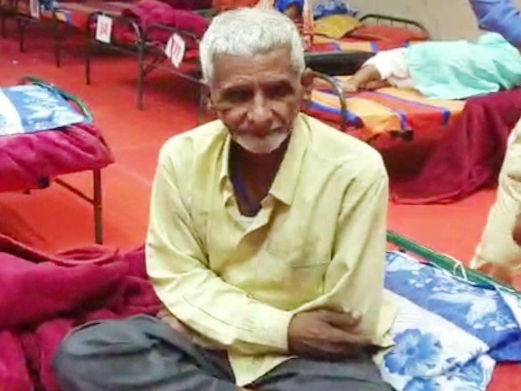 2 साल से मंदिर के बाहर भीख मांगने वाले बुजुर्ग के नाम पर बंगला, प्लॉट; नशे की लत से सड़क पर आए|इंदौर,Indore - Dainik Bhaskar