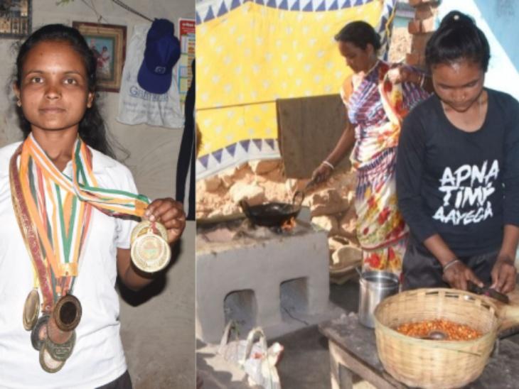 गोल्डन गर्ल की मजबूरी: झारखंड की राष्ट्रीय स्तर तीरंदाज ममता टुडू ने आर्थिक तंगी के चलते छोड़ी अपनी प्रैक्टिस, पकौड़े और झालमुड़ी बेचकर उठाई परिवार की जिम्मेदारी