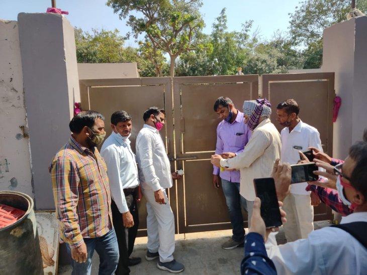 हरियाणा के उप मुख्यमंत्री के सामने पहुंची निगम की जमीन पर अवैध कब्जे की शिकायत, अगले ही दिन भवन हुआ सील|हरियाणा,Haryana - Dainik Bhaskar