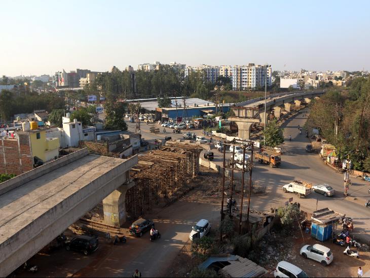 राजधानी के 4 बड़े ओवरब्रिज-फोरलेन प्रोजेक्ट रुके, ठेकेदारों को तारीख पे तारीख|छत्तीसगढ़,Chhattisgarh - Dainik Bhaskar