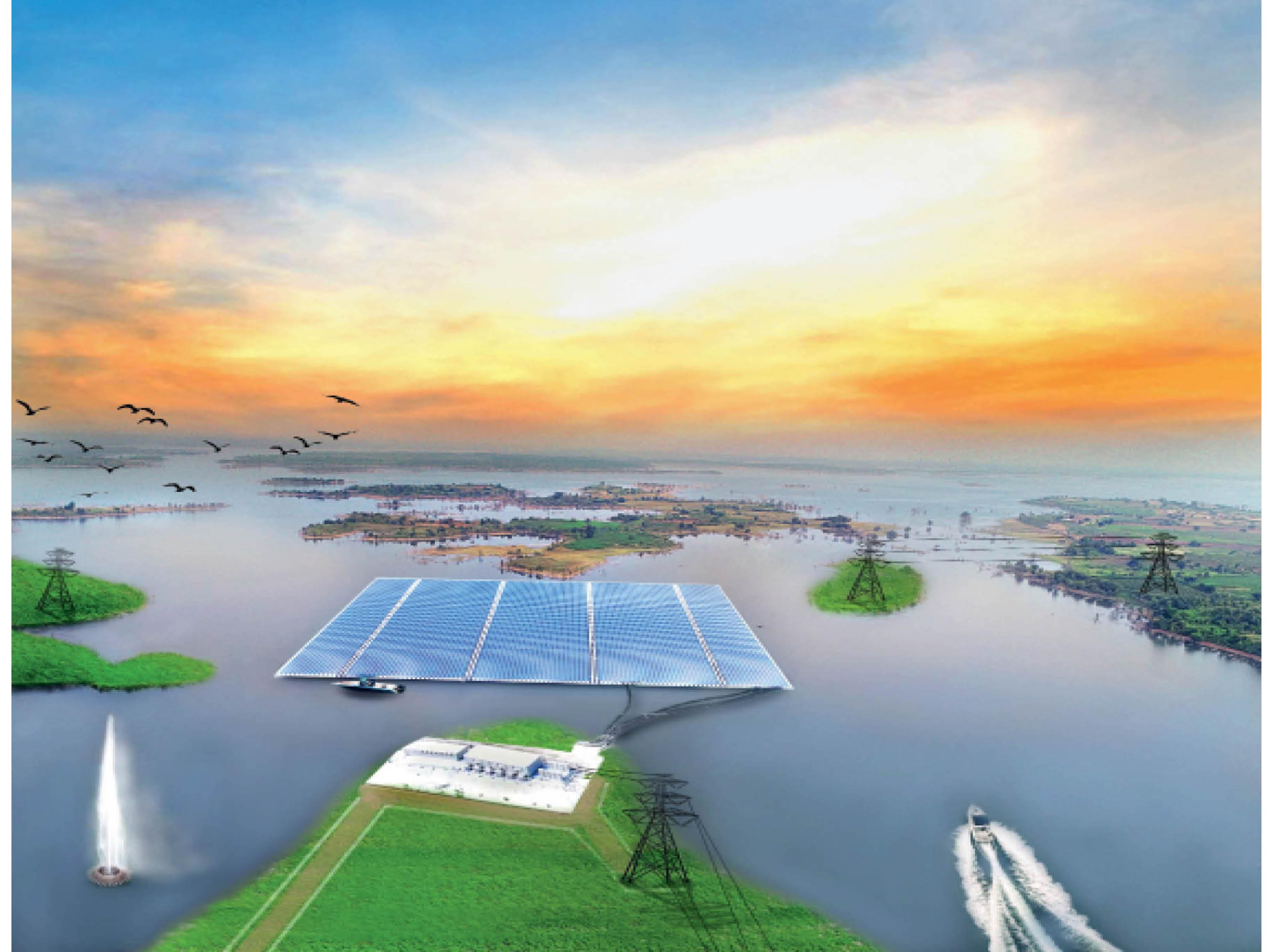 बजट में घोषणा: ओंकारेश्वर में बनेगा दुनिया का सबसे बड़ा फ्लाइटिंग सेलेर प्लांट;  नवंबर 2023 तक बनकर तैयार हाए होगा