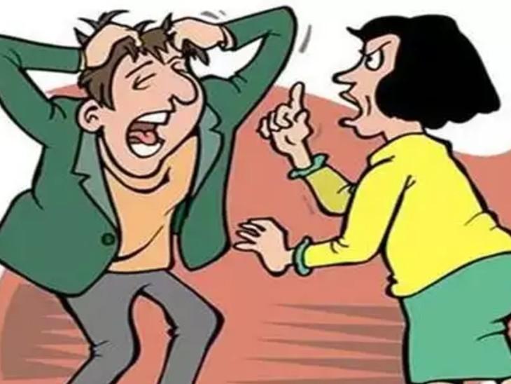 जब पतियों ने विरोध किया तो दोनों पर लगवा दिया दहेज प्रताड़ना का केस|भोपाल,Bhopal - Dainik Bhaskar