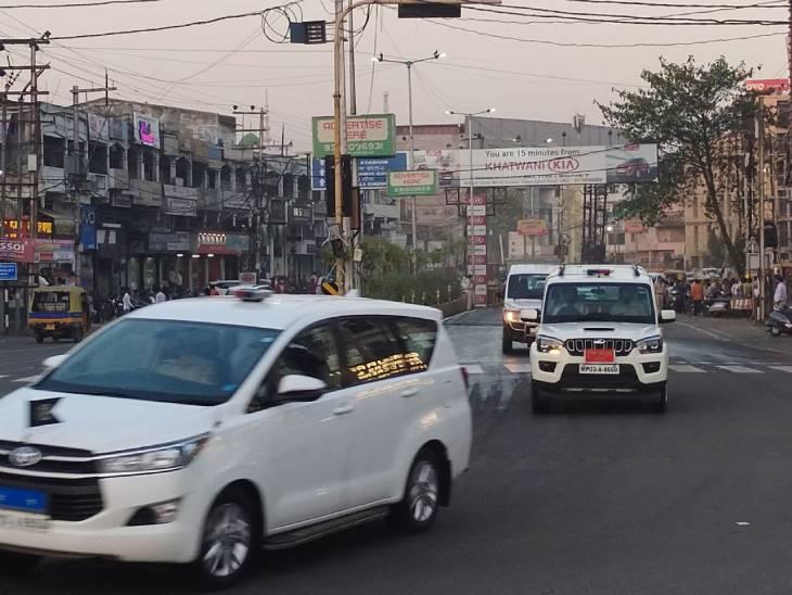 राष्ट्रपति के आगमन को लेकर शहर में कई मार्ग डायवर्ट, कई रूट नो-वीकल जोन घोषित|जबलपुर,Jabalpur - Dainik Bhaskar