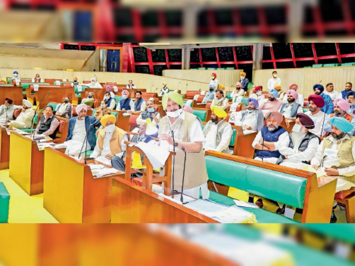खनन माफिया पर कार्रवाई को बनेगा ईडी 13 शिअद विधायक 3 दिन के लिए सस्पेंड|पंजाब,Punjab - Dainik Bhaskar