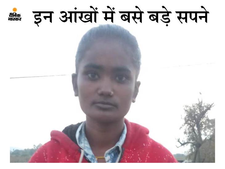 एक कमरे में रहते हैं 8 भाई-बहन; गरीबी से परिवार को उबारने के लिए पुलिस अफसर बनना चाहती है, फिट रहने के लिए नहर में करती है तैराकी जबलपुर,Jabalpur - Dainik Bhaskar