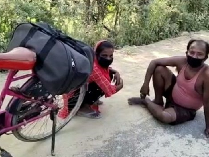 Bihar News; Know everything about Cycle Girl Jyoti who drove 1200 km from  Delhi to Darbhanga with sick Father | लॉकडाउन में बीमार पिता को लेकर आई  ज्योति; PM मोदी ने भी