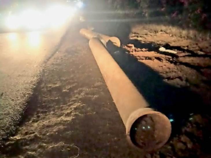 15 साल से जमीन में दबी हैं पाइप लाइन, इन्हें सप्लाई से जोड़ा ही नहीं गया|ग्वालियर,Gwalior - Dainik Bhaskar