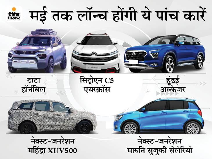 सिट्रोएन C5 एयरक्रॉस से लेकर हुंडई अल्केजर तक, बाजार में आ रही हैं ये 5 कारें, देखें लिस्ट|टेक & ऑटो,Tech & Auto - Dainik Bhaskar