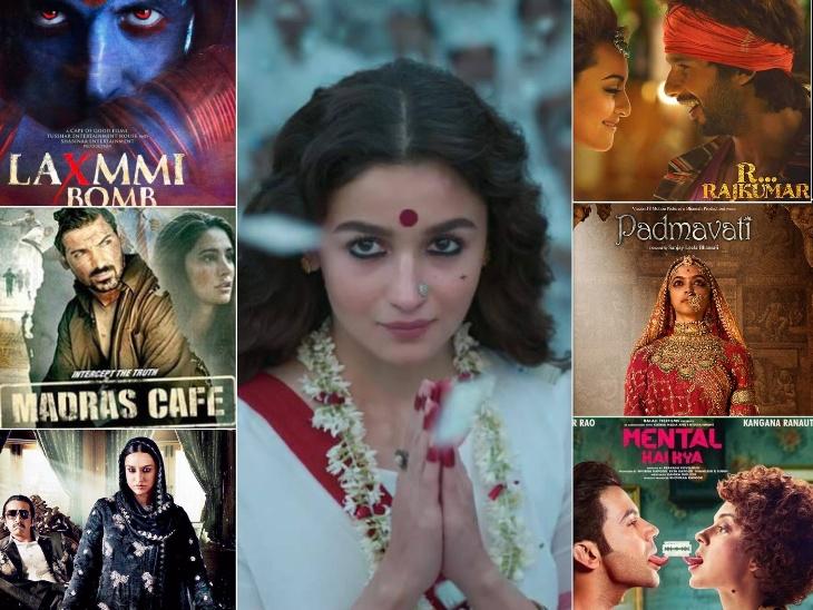 गंगूबाई काठियावाड़ी से पहले, लक्ष्मी, बिल्लू और पद्मावत समेत विवादों में आने के बाद इन फिल्मों के बदले गए थे नाम बॉलीवुड,Bollywood - Dainik Bhaskar