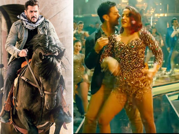 'पठान' में शाहरुख को बचाते दिखेंगे सलमान, आज आएगा आमिर का डांस नंबर 'हरफनमौला' और 'चेहरे' के पोस्टर से रिया फिर गायब|बॉलीवुड,Bollywood - Dainik Bhaskar