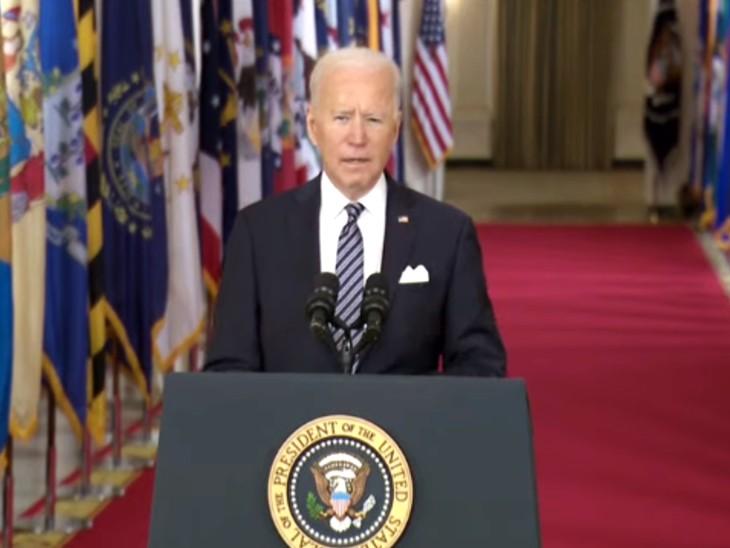 राष्ट्रपति जो बाइडेन ने कहा- कोरोना वायरस की वजह से अमेरिकियों ने कुछ न कुछ खोया, पहले और दूसरे विश्व युद्ध से ज्यादा मौतें हुईं विदेश,International - Dainik Bhaskar