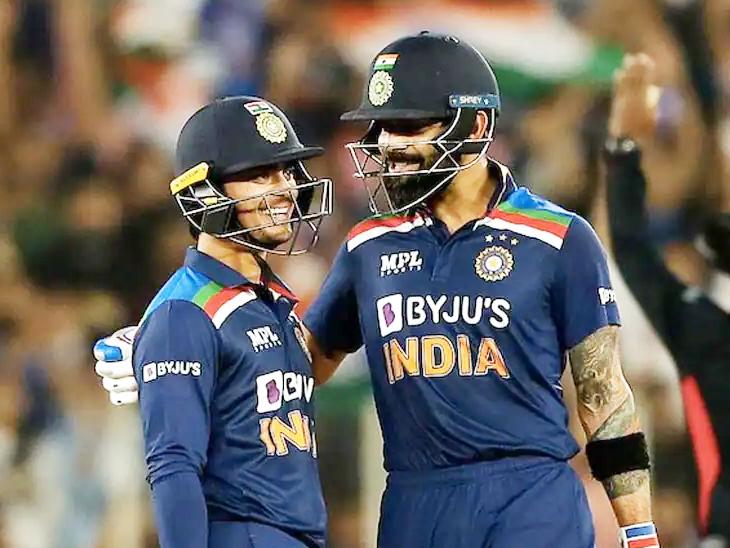 भारतीय कप्तान बोले- किशन को IPL में क्वालिटी बॉलर्स को खेलने से मदद मिली; मोर्गन ने कहा- भारत ने जोरदार वापसी की क्रिकेट,Cricket - Dainik Bhaskar
