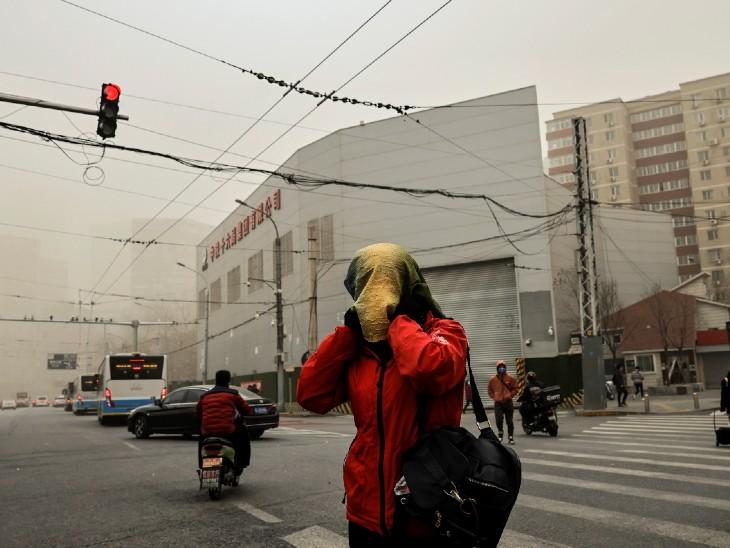 10 साल बाद फिर आया रेत का तूफान:चीन की राजधानी बीजिंग समेत पूरा उत्तरी इलाका रेत से ढंका; 6 लोगों की मौत, 81 लापता