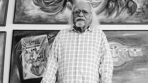Renowned painter Lakshman Pai conferred with Padma Vibhushan, dies in Goa | पद्म विभूषण से सम्मानित चित्रकार लक्ष्मण पाई का 95 वर्ष की उम्र में निधन, गोवा में ली अंतिम सांस