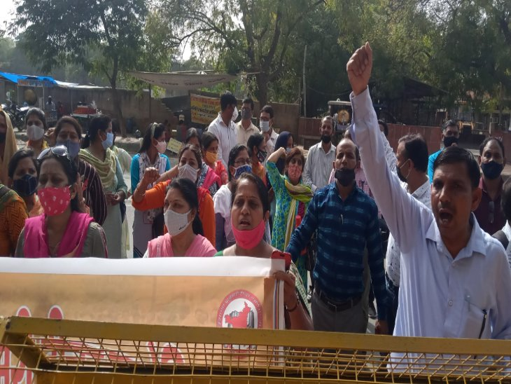परिवार पहचान पत्र के लिए आय सर्वे करने में ड्यूटी लगाने पर भड़के; बोले- अब स्कूल खुले तो दूसरे काम में लगाया जा रहा हरियाणा,Haryana - Dainik Bhaskar