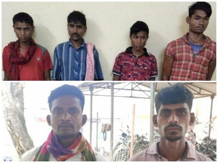 बीजापुर में सड़क किनारे खोद रहे थे गड्ढ़ा, जवानों ने दौड़ाकर पकड़ा तो मिला IED और टिफिन बम; 6 नक्सली गिरफ्तार|छत्तीसगढ़,Chhattisgarh - Dainik Bhaskar
