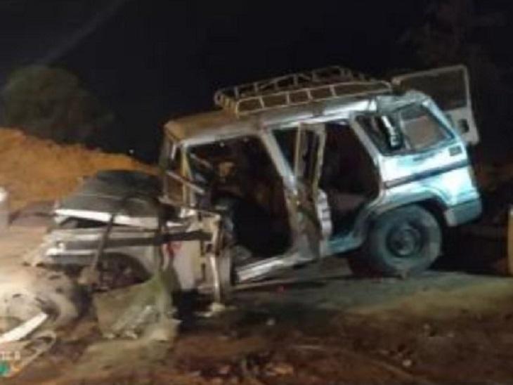 अंबिकापुर में बाजार से लौट रहे कारोबारियों के बोलेरो को मारी टक्कर, ट्रक ड्राइवर फरार; दो अन्य घायल|छत्तीसगढ़,Chhattisgarh - Dainik Bhaskar
