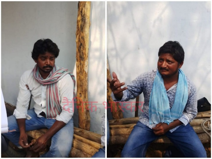 नक्सलियों ने सुबह फल बेचने जा रहे युवकों को पीटा, बाइक में तोड़फोड़ कर लगाई आग; CRPF जवानों को देख भाग निकले|छत्तीसगढ़,Chhattisgarh - Dainik Bhaskar