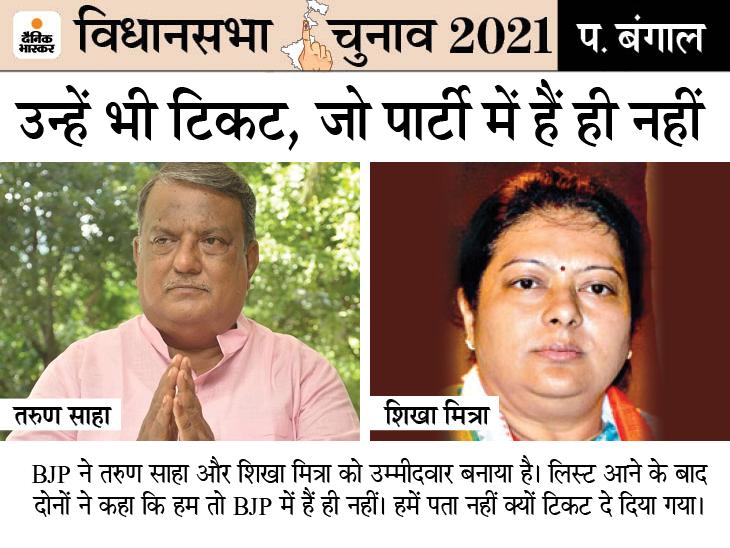 जिस TMC को उखाड़ने का ऐलान, उसी से आए करीब 150 नेताओं को BJP ने टिकट दिए; 8 मुस्लिम भी उतारे, पर वहां, जहां जीतने की उम्मीद कम|देश,National - Dainik Bhaskar