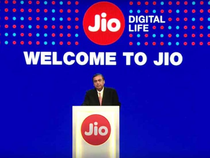 रिपोर्ट में कहा गया है कि जियो के 5G रेडी स्मार्टफोन 2021 की दूसरी छमाही में लॉन्च हो सकता है। (डेमो इमेज) - Dainik Bhaskar