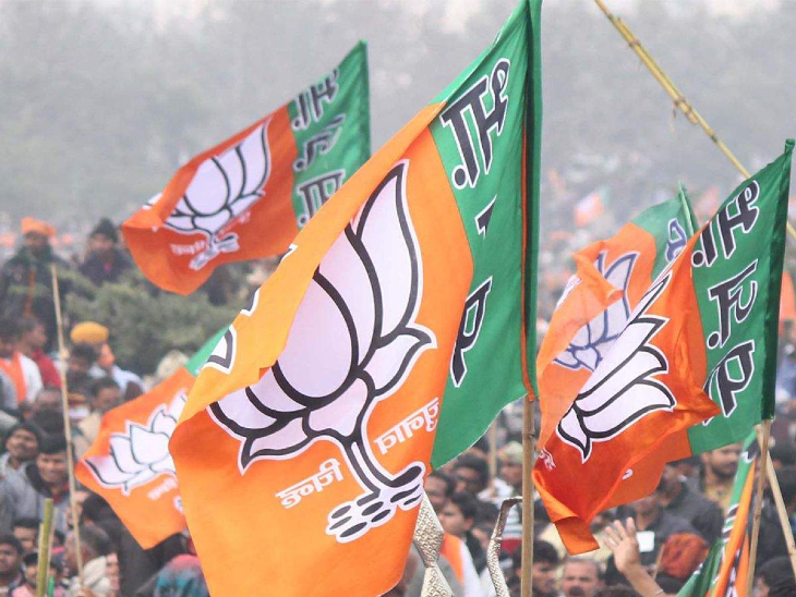 BJP flag hoisted on Panaji municipality, 25 out of 30 seats in BJP's account | पणजी नगरपालिका पर लहराया भाजपा का झंडा, 30 में से 25 सीटें जीतीं; 20 मार्च को हुए थे चुनाव