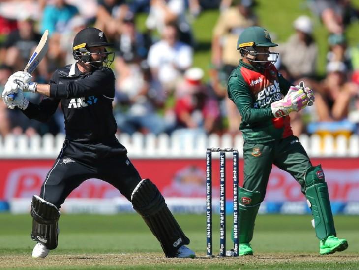 तीसरे वनडे में 164 रन से जीती कीवी टीम, कॉनवे और मिचेल के शतक|क्रिकेट,Cricket - Dainik Bhaskar